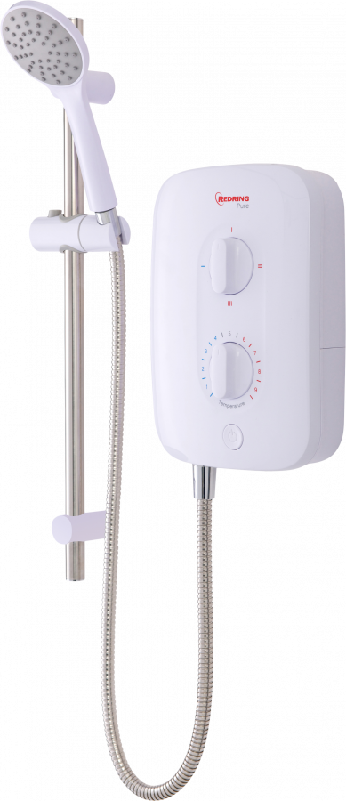 Pure - Pure 8.5kW Instantaneous Electric Shower - RPS8 - 2